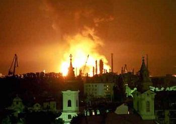 Bombardamento su Belgrado