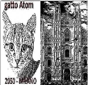 fantasma Gatto Atom e Duomo di Milano by CT autore 271119